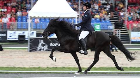 Tore och Camilla på VM